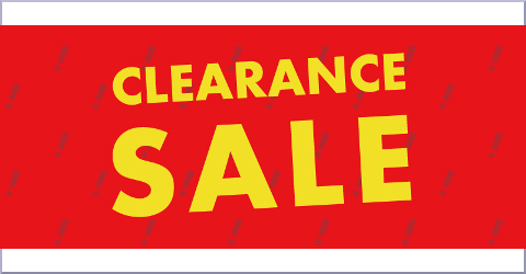Clearance Sale クリアランスセール