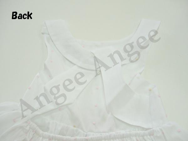 Link dress Organdi dots