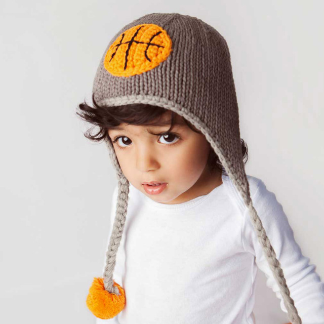 Basketball Beanie Hat