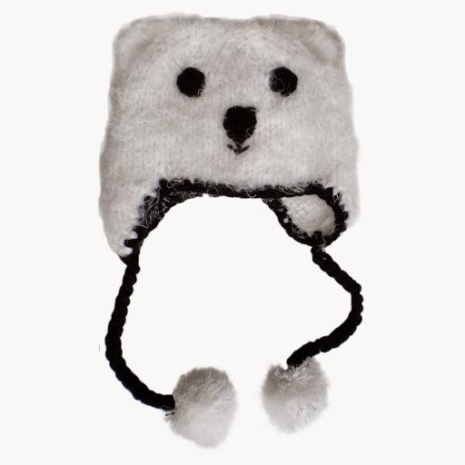 Polar Bear Beanie Hat
