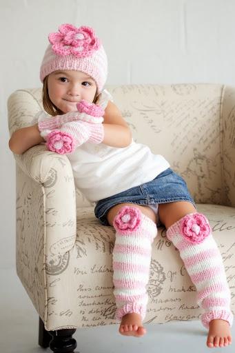Parfait Pink Ziggy Beanie Hat
