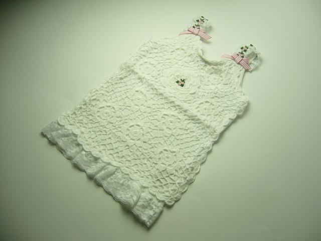 Bella Rose Crochet Singlet