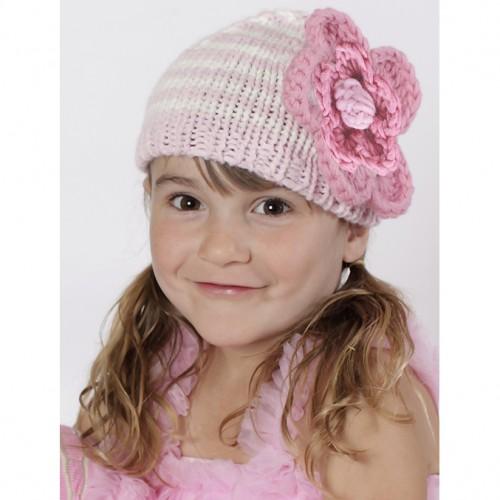 Parafait Pink Ziggy Beanie Hat