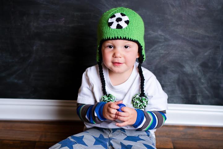 Soccer Beanie Hat